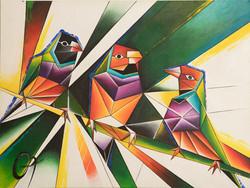 «3 птицы Амадина»