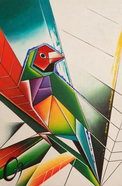 «1 птица Амадина»