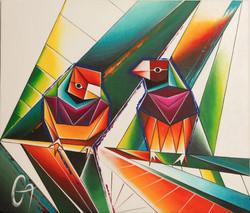 «2 птицы Амадина»
