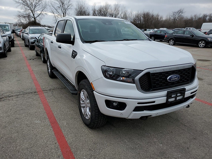 LOT - A46158-  2019 Ford RANGER 4X4 CR LARIAT