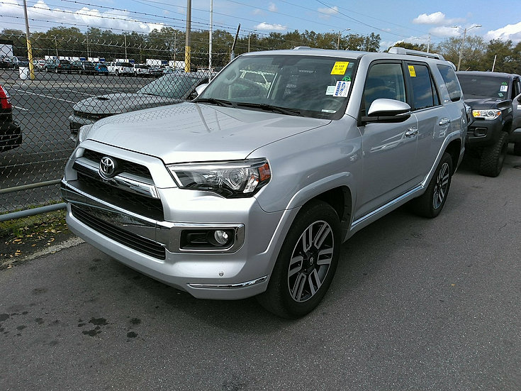 LOT - 458522 - 2017 TOYOTA 4RUNNER LIMITED