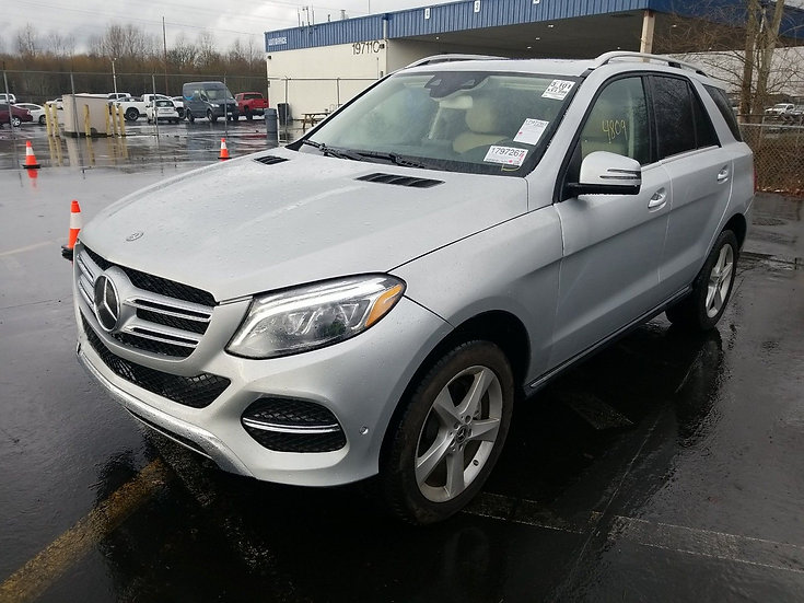 LOT - 027355- 2018 Mercedes-Benz GLE350W GLE 350