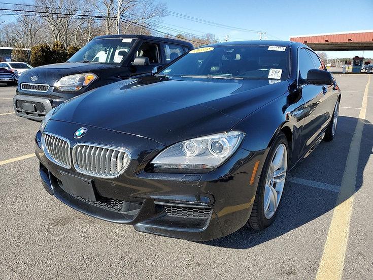 LOT - 097907 - 2013 BMW 650I XDR 650I XDRIVE