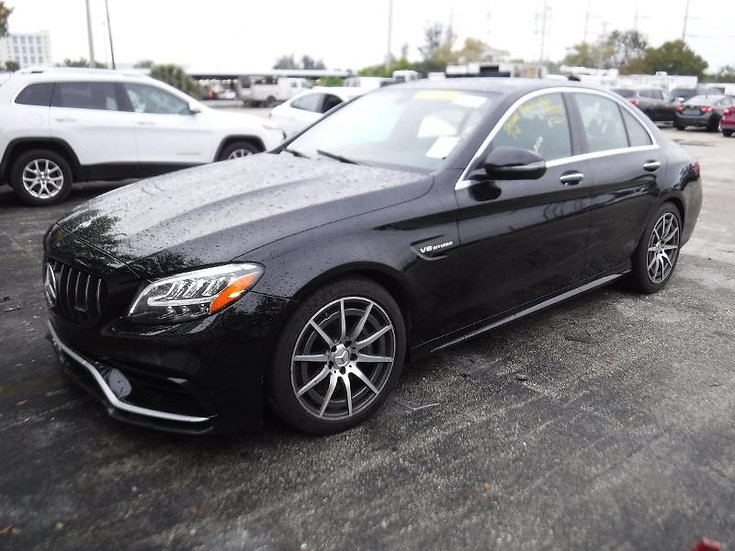 LOT - 315876 - 2019 Mercedes-Benz C63W AMG