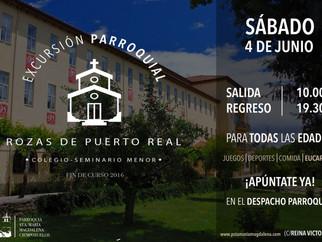 Excursión parroquial - Rozas de puerto real