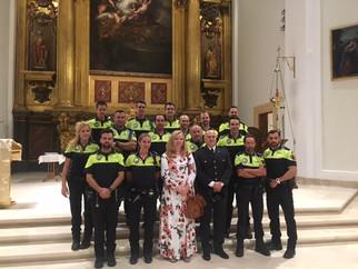 Misa especial por la Policía en la fiesta de sus patrones