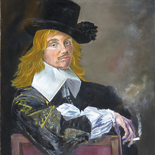 Willem Wilgo After Portrait of Willem Coymans1645 by Frans Hals