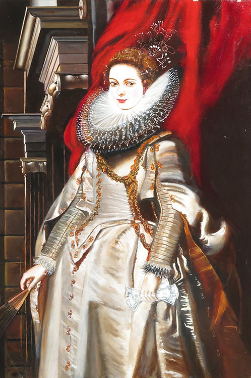 After Portrait of Marchesa Brigida Spinola-Doria1606 by Peter Paul Rubens