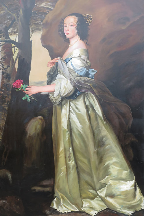 Princess After Lady Francis Buckhurst Countess of Dors by Anthony Van Dyck 1637
