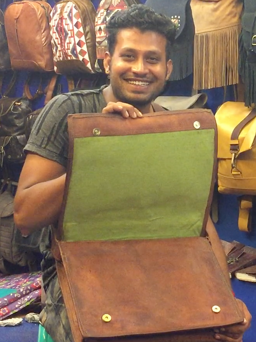 Made With Love - Leather Bag