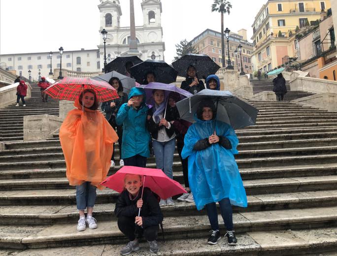Roma in the Rain