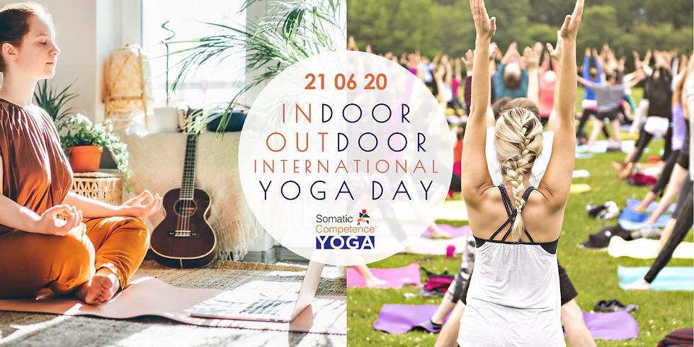 INdoor OUTdoor International Yoga Day