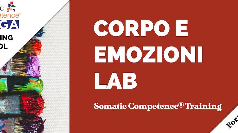 Corpo e Emozioni Lab. Somatic Competence Training