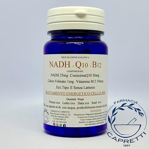 NADH+Q10+B12 Protocollo Energetico Cellulare