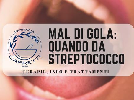 MAL di GOLA: quando è da STREPTOCOCCO! Terapia, Info e Prevenzione