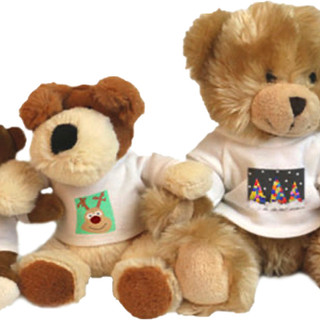 Soft Toys with printed T-Shirt