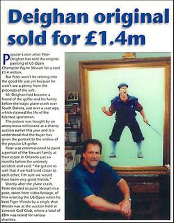 Peters painting raised £1.4m