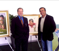 with Seve Ballesteros