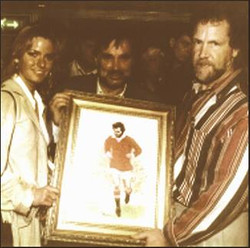 With George Best