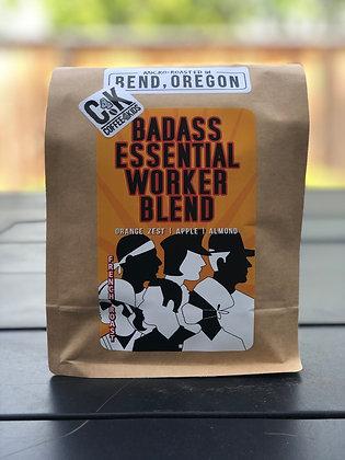 1lb bag Badass Essential Worker Blend