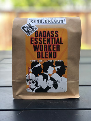 12 oz bag Badass Essential Worker Blend