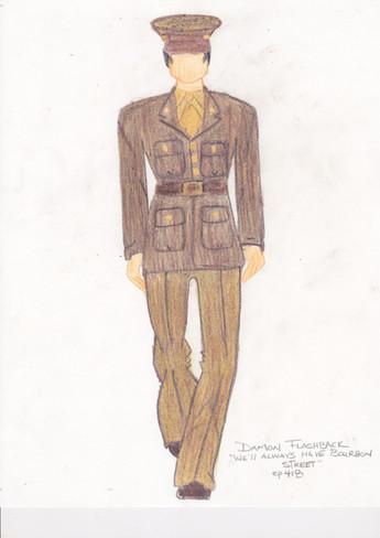 Damon WW2 Sketch