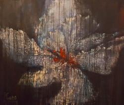 Cattleya, 100 x 120 cm, Oleo sobre tela, Teresa Cabo, 2016
