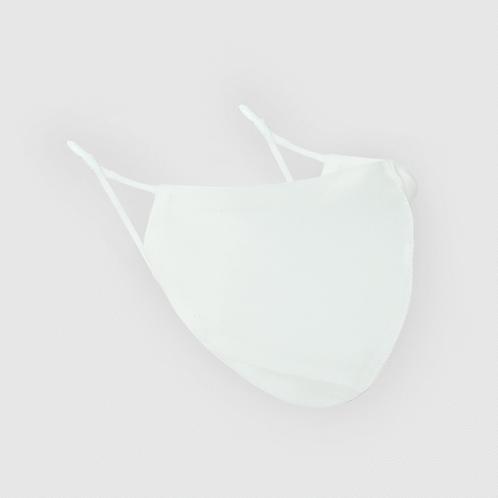 Shhh Silk White Face Mask
