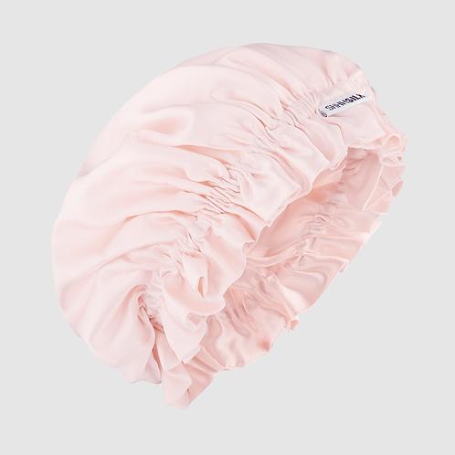 Shhh Silk Pink Face Bonnet