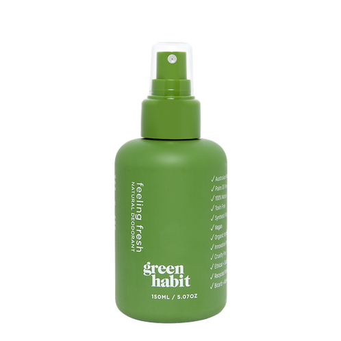 Green Habit Natural Deodorant Spray