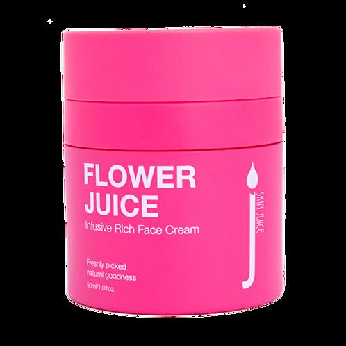 FLOWER JUICE Infusive Rich Face Cream