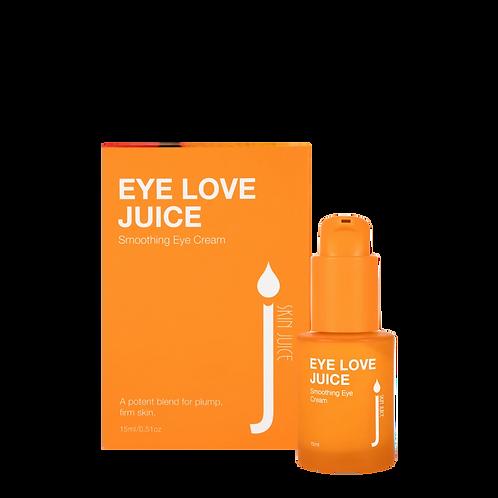 EYE LOVE JUICE Smoothing Eye Cream