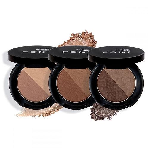 Duo Brow Powder - PONi Cosmetics