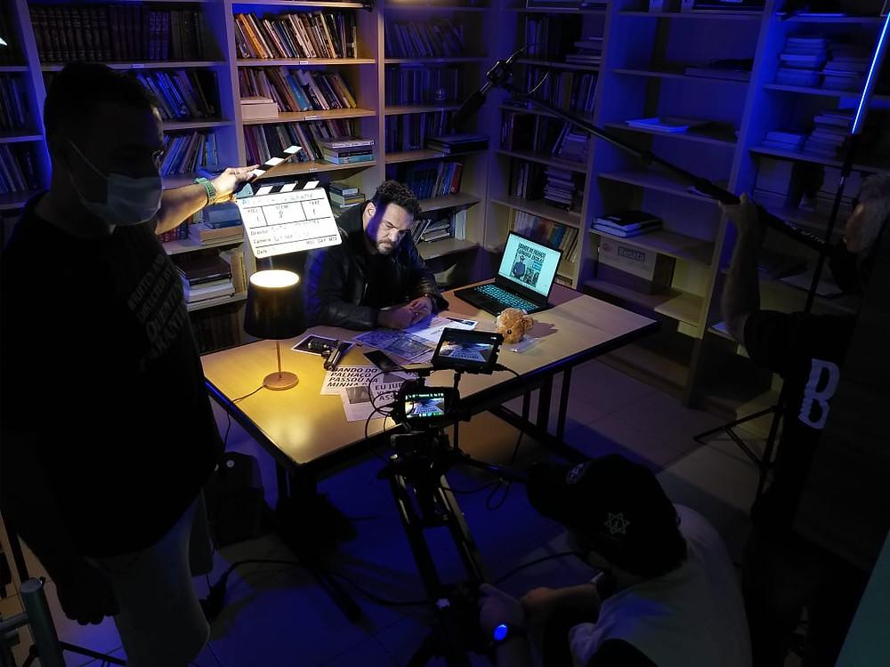 Making Of das gravações de além da verdade