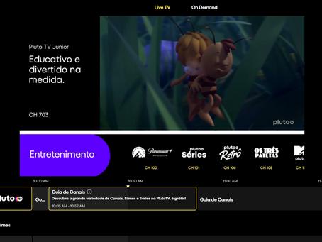 CMK Play inicia parceria com Pluto TV