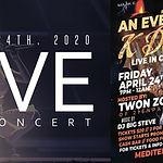 K Davis Live R&B / SOUL Concert w/ Live Bandd