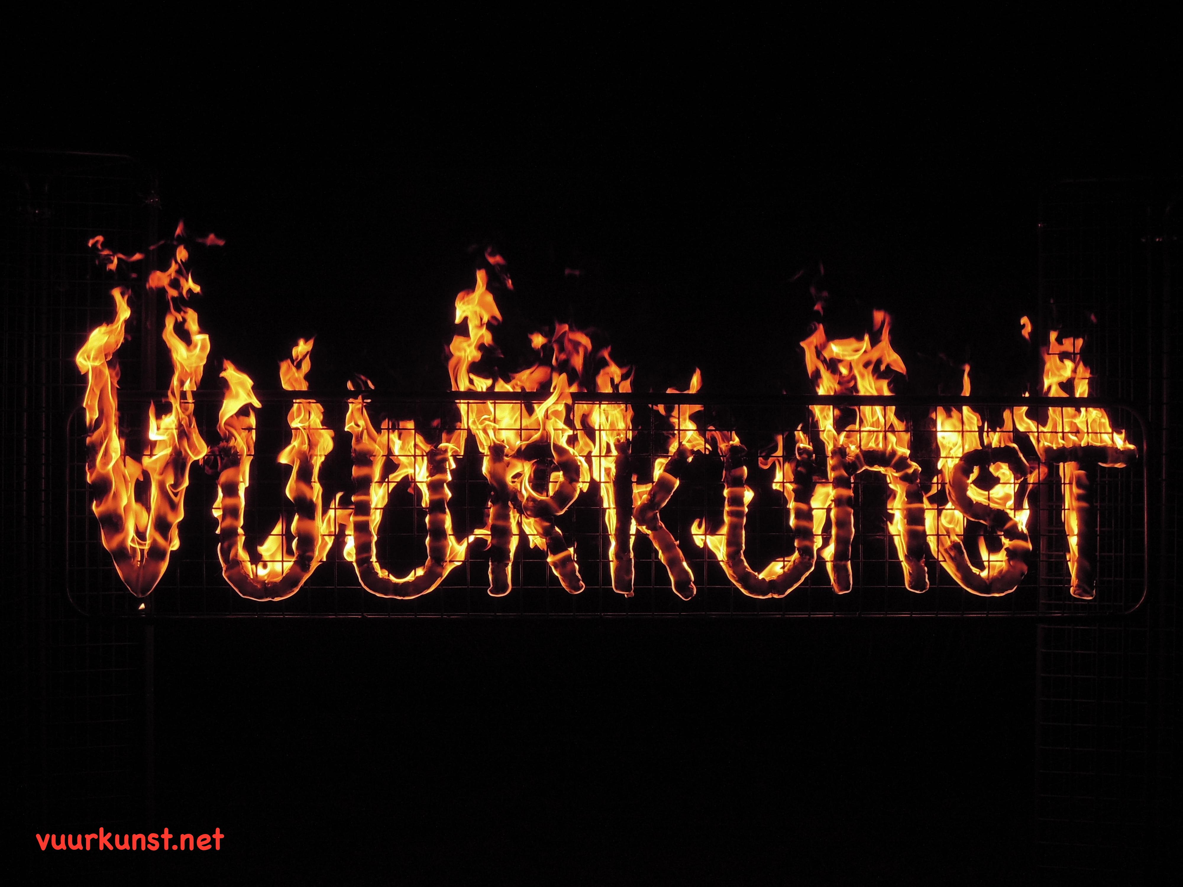 Vuurkunst Vuurletters