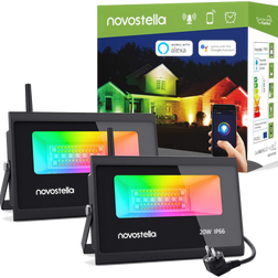 Novostella Smart FloodLights - Make the outdoors yours!
