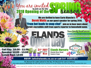 Elands Spring Open Day