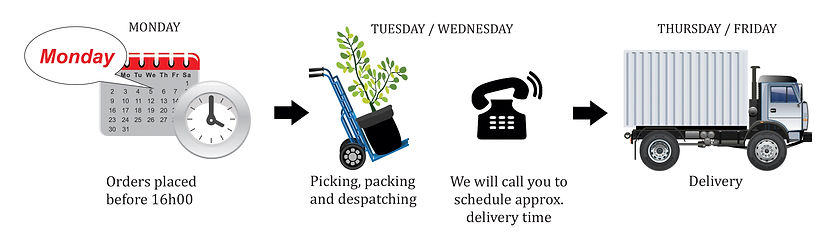 delivery,truck, tme, order, schedule, despatch, picking,packing, Bloemfontein