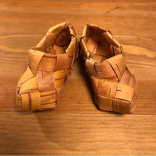 靴の編み方レシピ(タイプA)