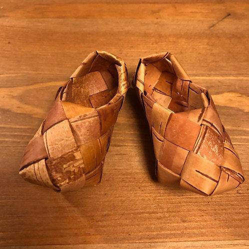 靴の編み方レシピ(タイプB)
