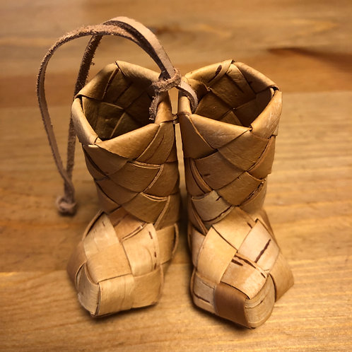 靴の編み方レシピ(タイプD)