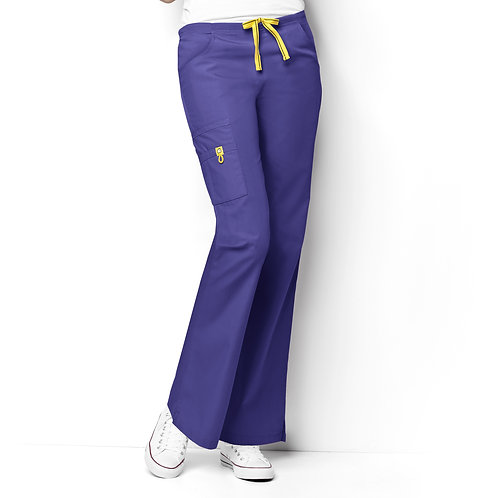 Romeo -6Pkt Flare Leg Women's Pant  Lavender