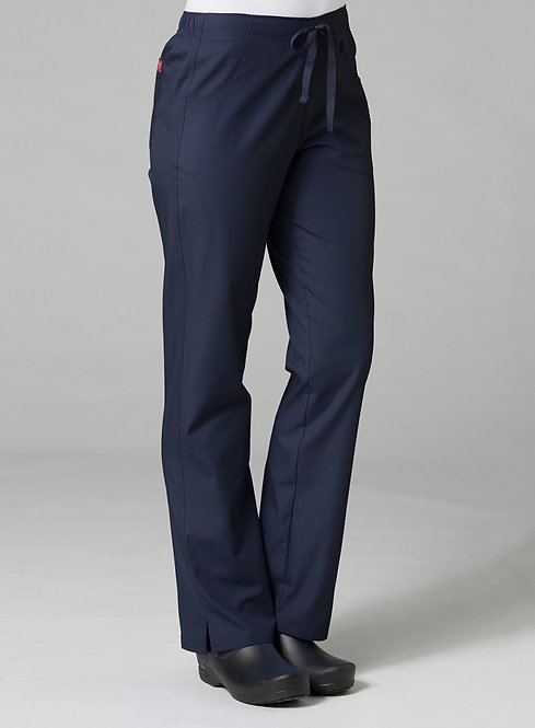 9716 -Half Elastic Pant - Navy