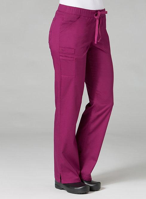 Sales Activate 7322 [PrimaFlex]  Inner Beauty Straight Leg Pant Plum