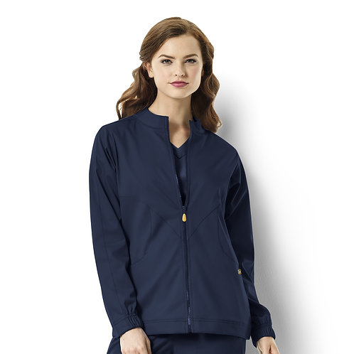 Boston - Warm-up Style Jacket  8119 Navy