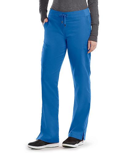 Grey's Anatomy - Classic -  6 Pocket Cargo Pant(style4277) Royal
