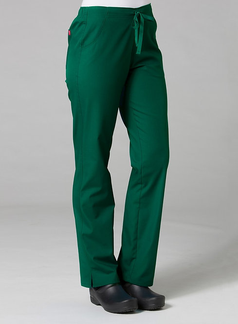 9716 -Half Elastic Pant - Hunter Green