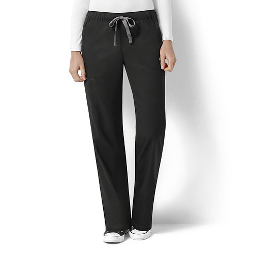 Logan Women's Elastic Waist Pant  5119- Black